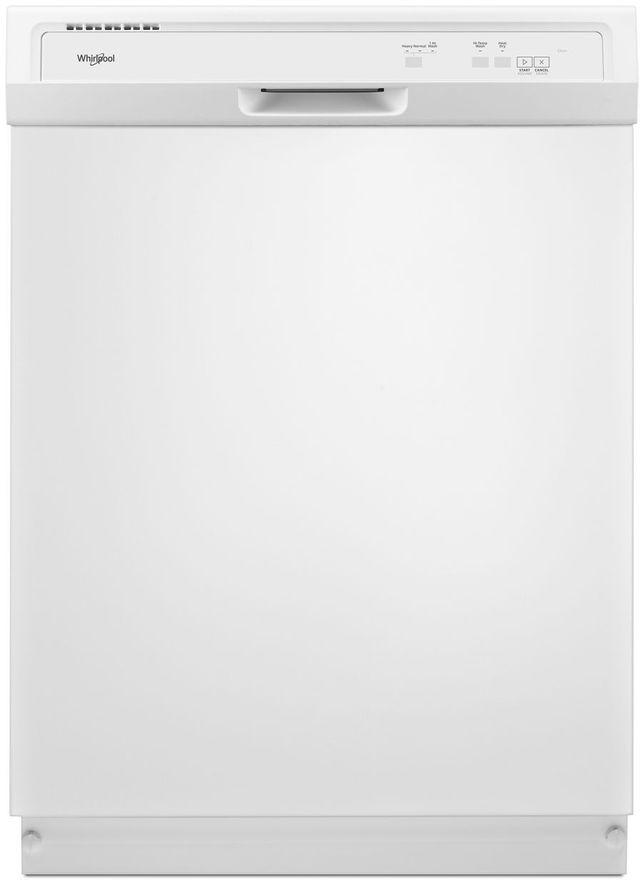 "Whirlpool® 24"" Built In Dishwasher-White-WDF130PAHW"