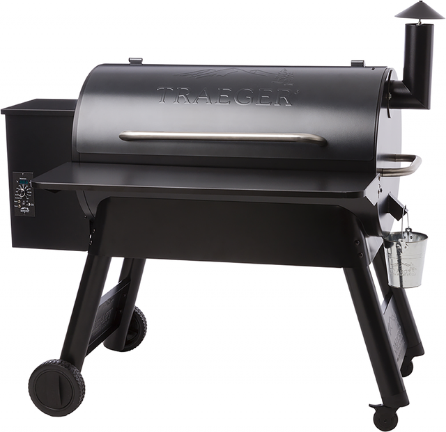 Traeger® 34 Series Folding Front Shelf-Black-BAC363