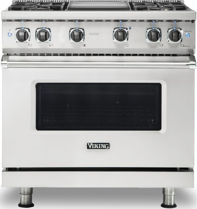 """Viking® Professional 5 Series 36"""" Pro Style Gas Range-Stainless Steel-VGR5364GSS"""