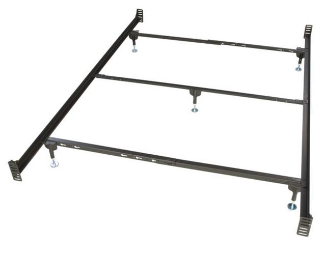 Glideaway® Deluxe Queen Brass Bed Frame-BB34