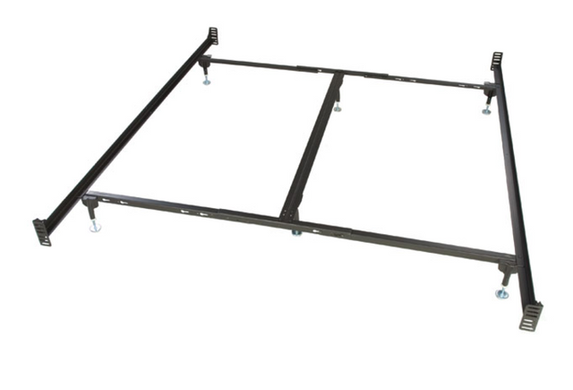 Glideaway® Deluxe King Brass Bed Frame-BB44