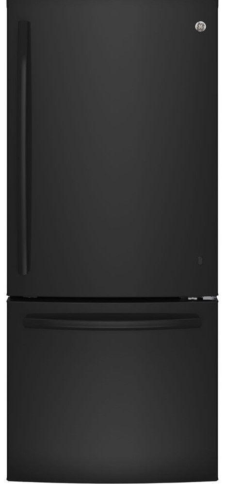 Réfrigérateur à congélateur inférieur de 30 po GE® de 20,9 pi³ - Blanc-GBE21AGKBB