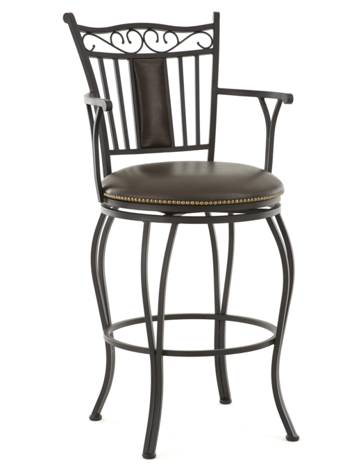 Steve Silver Co. Barbara Jumbo Swivel Counter Chair-BB650SCC