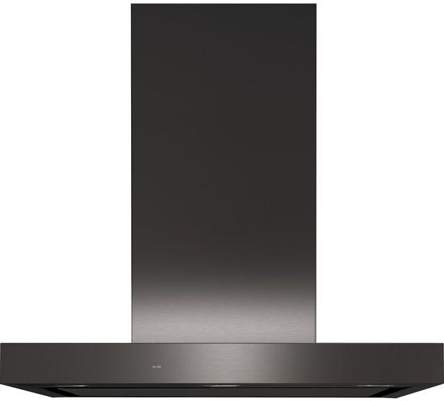 "GE Profile™ 30"" Black Stainless Steel Wall Hood-UVW9301BLTS"