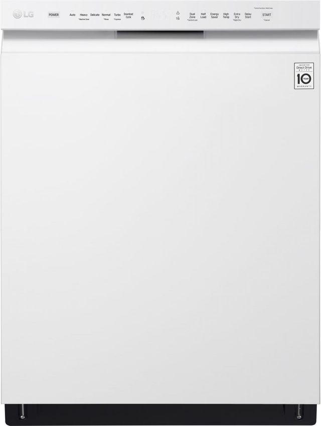 Lave-vaisselle encastré LG® de 24 po - Blanc-LDF5545WW