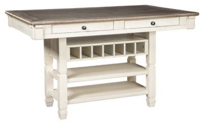 Signature Design by Ashley® Bolanburg Two-tone Rectangular Dining Room Counter-Height Table-D647-32
