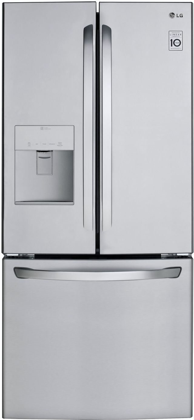 LG 21.8 Cu. Ft. Stainless Steel French Door Refrigerator-LFDS22520S