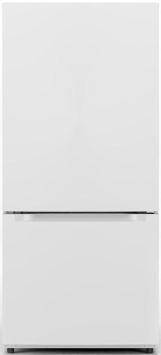 Midea® 18.69 Cu. Ft. White Bottom Freezer Refrigerator-MRB19B7AWW