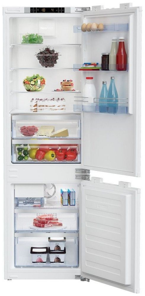 Beko 8 Cu. Ft. Panel Ready Built In Bottom Freezer Refrigerator-BBBF2410IM