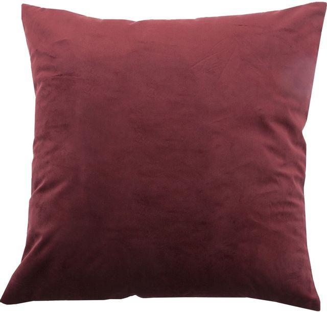 Coussin décoratif Scarlet, bourgogne, Renwil®-PWFL1085