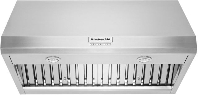 "KitchenAid® 36"" Stainless Steel Wall Hood-KVWC906KSS"