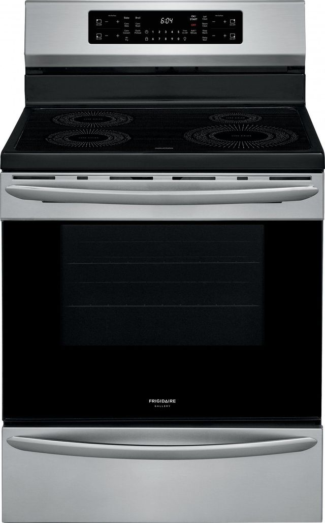 """Frigidaire Gallery® 30"""" Stainless Steel Freestanding Induction Range with Air Fry-GCRI3058AF"""