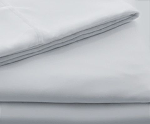Malouf® Sleep Woven™ Brushed Microfiber Ash Split Queen Sheet Set-MA90SQASMS