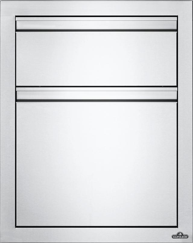 Tiroir de rangement d'extérieur Napoleon® - Acier inoxydable-BI-1824-1W