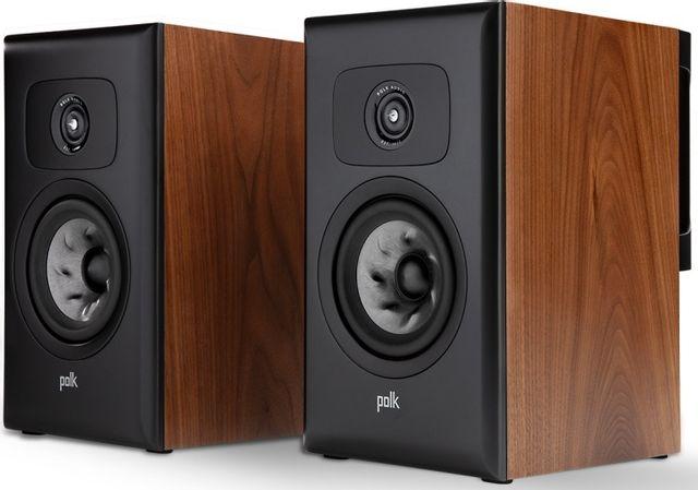 """Polk Audio® LEGEND L100 Brown Walnut 5.25"""" Bookshelf Speakers (Pair)-AM8915"""