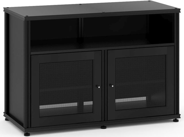 Salamander Designs® Synergy Model 329 AV Cabinet-Black-SB329B/B