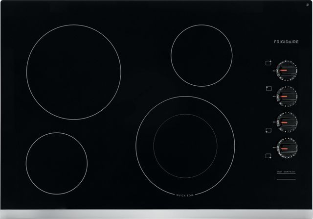 """Frigidaire® 30"""" Stainless Steel Electric Cooktop-FFEC3025US"""