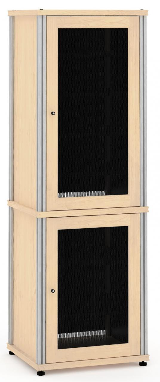 Salamander Designs® Synergy Natural Maple AV Cabinet-703M/B
