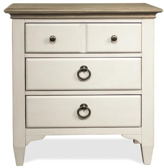 Riverside Furniture Myra Three Drawer Nightstand-59569