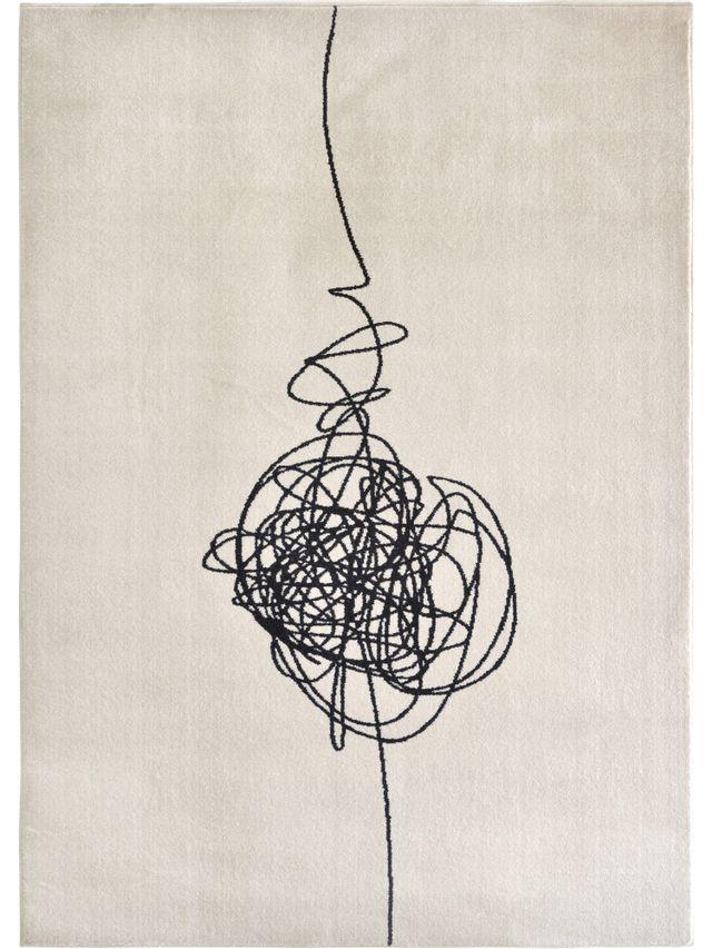 Tapis de zone Studio Line, noir/blanc, Renwil®-RWIR-00118-58