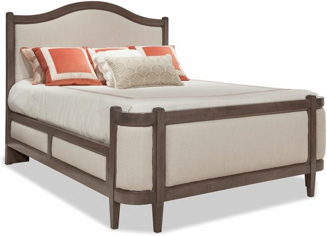 Durham Furniture Prominence King Grand Upholstered Bed-171-146