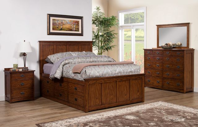 Winners Only® Colorado Storage Bed-California King-BCQ1001CKS