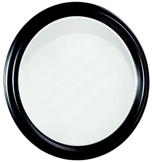 Durham Furniture Manhattan Cabernet Round Mirror-227-180