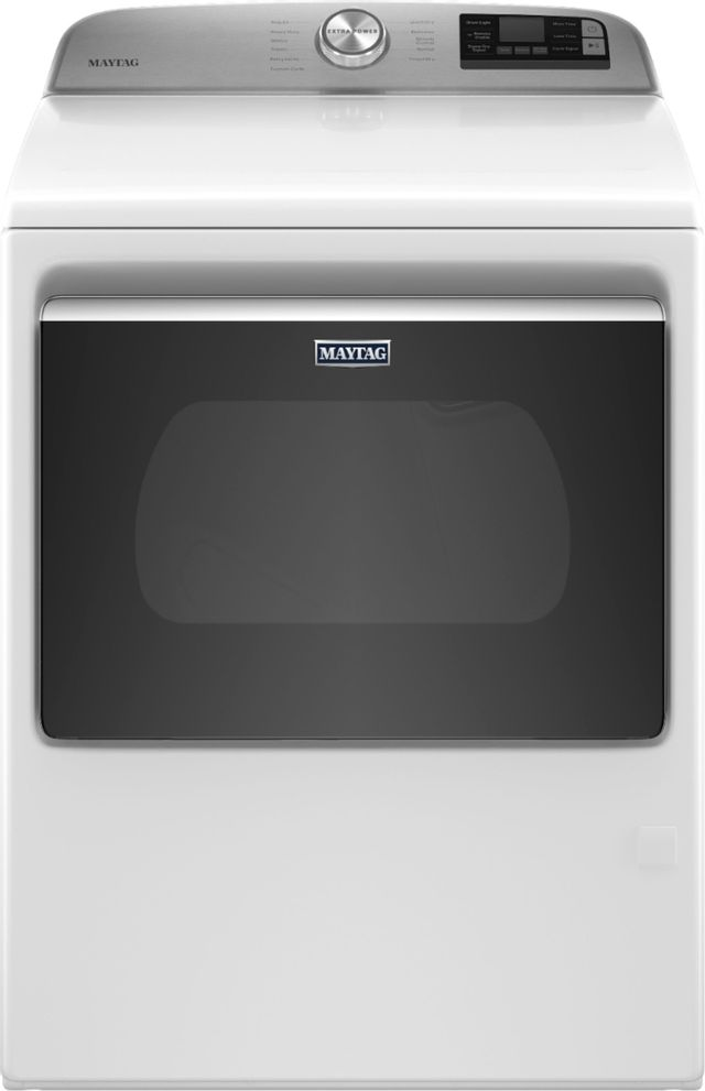 Maytag® 7.4 Cu. Ft. White Front Load Gas Dryer-MGD6230RHW