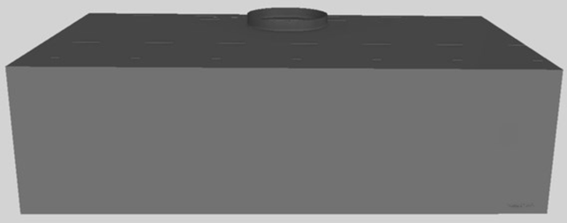 "Vent-A-Hood® 42"" Wall Mounted Range Hood-Gunsmoke-CWH-242 GS"