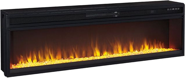 Signature Design by Ashley® Entertainment Accessories Black Wide Fireplace Insert-W100-22