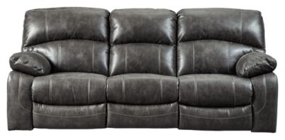 Signature Design by Ashley® Dunwell Power Recliner Sofa with Adjustable Headrest-5160115