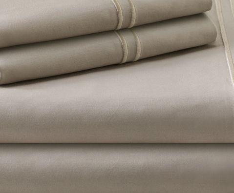 Malouf® Sleep Woven™ Supima® Premium Cotton Flax California King Sheet Set-MAS6CKFLSS