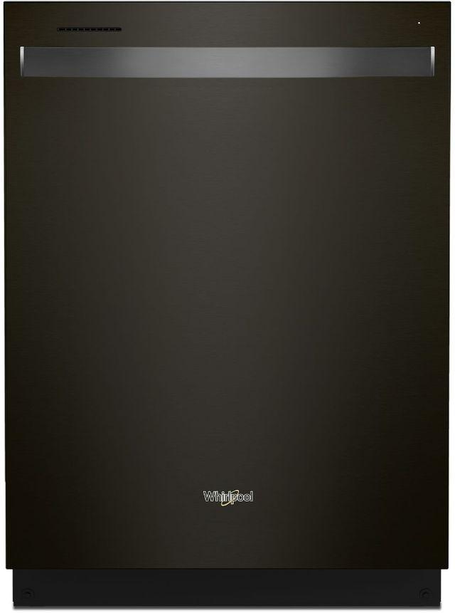 """Whirlpool® 24"""" Black Stainless Built In Dishwasher-WDT750SAKV"""