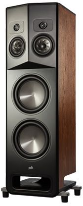 "Polk Audio® LEGEND L800 Brown Walnut 10"" Left Premium Floor Standing Tower Speaker-AM8980"