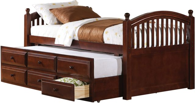 Coaster® Norwood Chestnut Twin Youth Day Bed-400381T