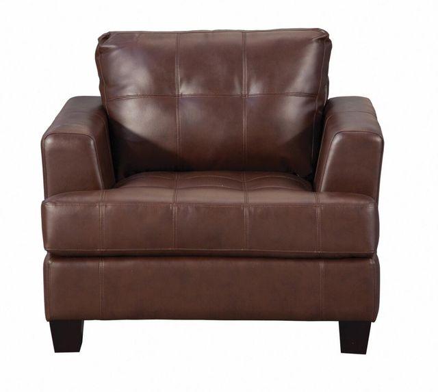 Coaster® Samuel Brown Chair-504073