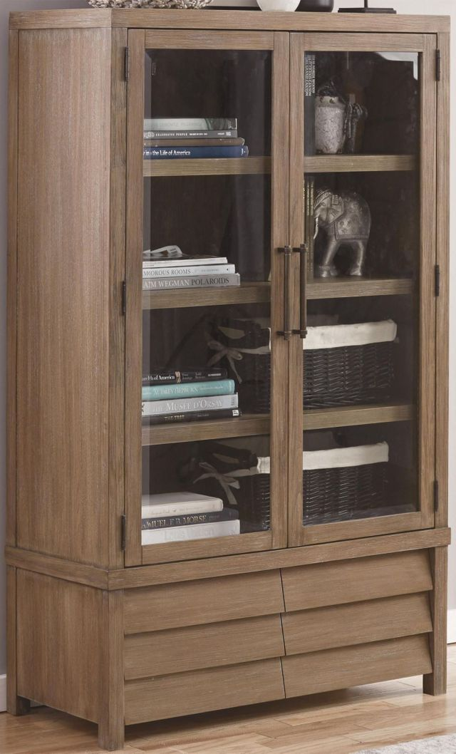 Riverside Furniture Mirabelle Cabinet Bookcase-26237