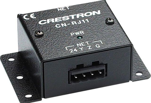Crestron® 4 Wire to RJ11 Cresnet Converter-CNRJ11