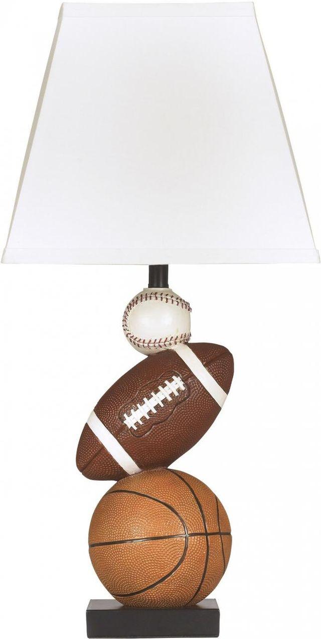Signature Design by Ashley® Nyx Brown/Orange Table Lamp-L815714