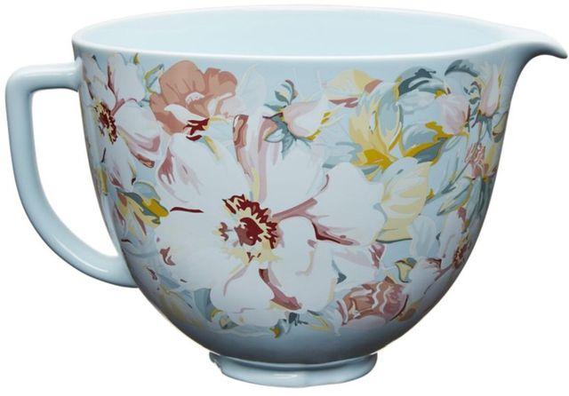 KitchenAid® White Gardenia 4.8 Liter Ceramic Bowl -KSM2CB5PWG