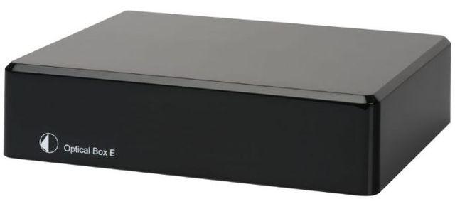 Pro-Ject E Line Black Optical Box E Phono Preamplifier-Optical Box Phono E-Bl