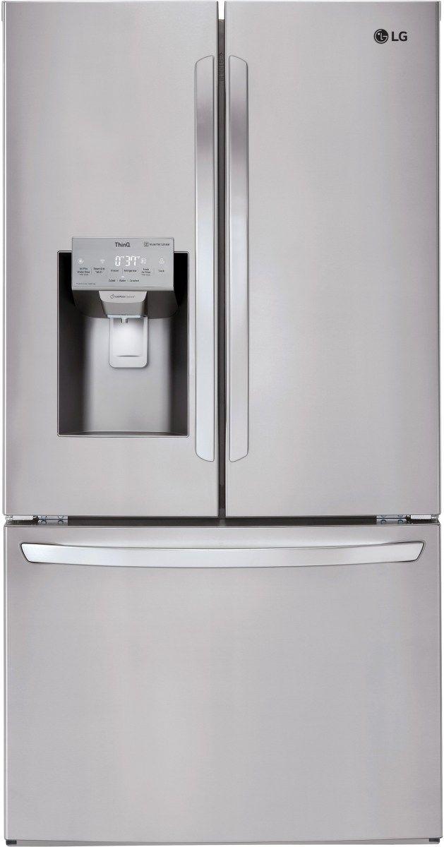 LG 26.20 Cu. Ft. Stainless Steel French Door Refrigerator-LFXS26973S