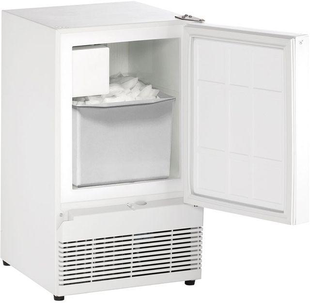 """U-Line® ADA Series 14.94"""" White Ice Maker-BI98W-00A"""
