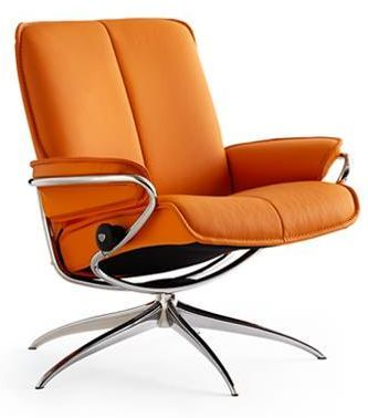 Stressless® by Ekornes® City Low Back Star Base Chair-1286321