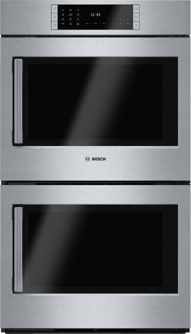 """Bosch Benchmark® Series 29.75"""" Stainless Steel Electric Double Oven Built In-HBLP651RUC"""