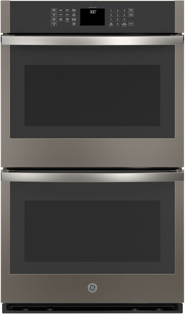 """GE® 30"""" Slate Electric Double Oven Built In-JTD3000ENES"""