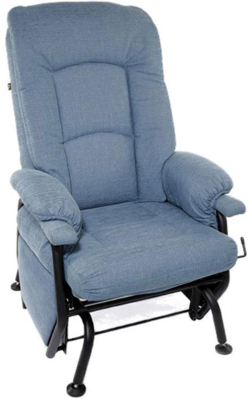 Fauteuil inclinable AGE en tissu bleu PEL International®-761926