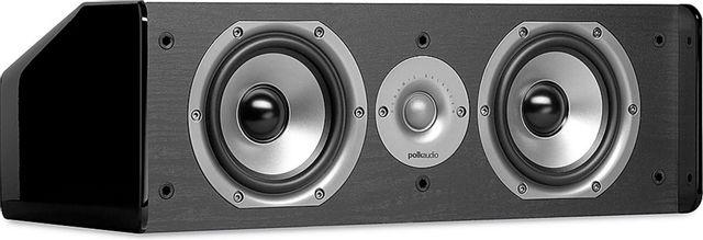 """Polk Audio® TSI Series CS10 Black 5.5"""" Center Channel Speaker-AM1235"""