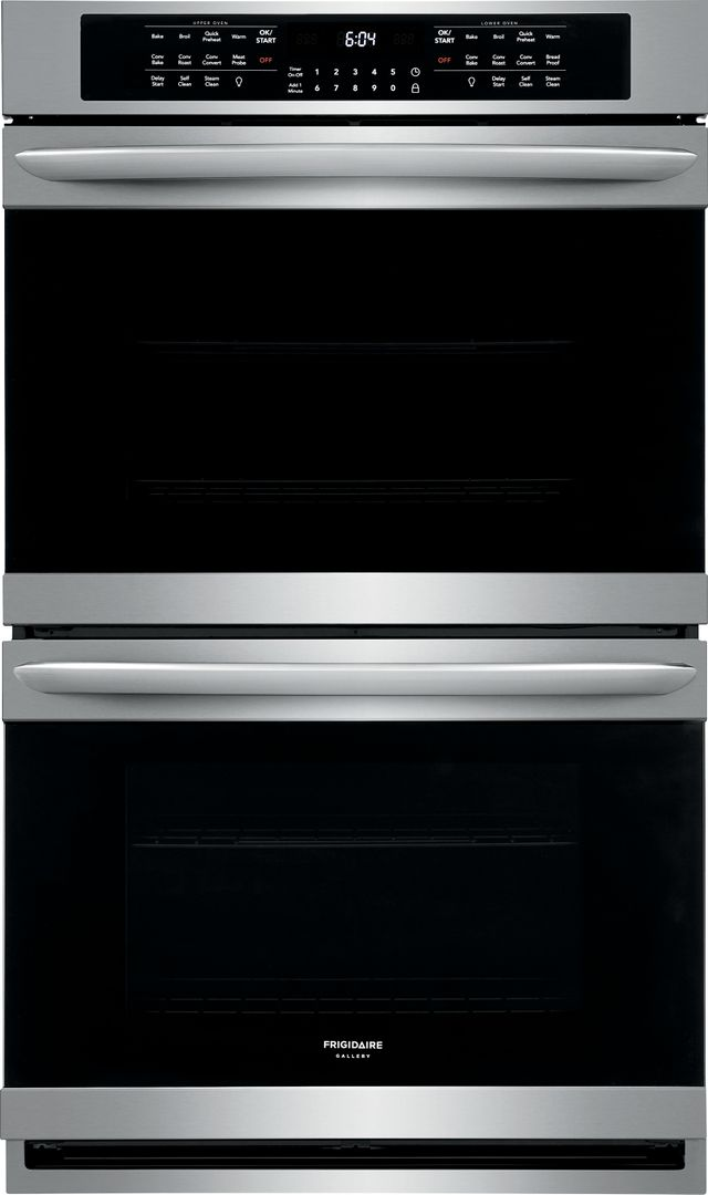 """Frigidaire Gallery® 30"""" Stainless Steel Electric Double Oven Built In-FGET3066UF"""