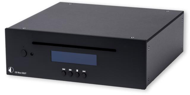 Pro-Ject Black High-End Audio CD Transport-CD Box DS2 T-Black